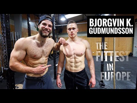 Training with BK. GUDMUNDSSON // DAY IN THE LIFE