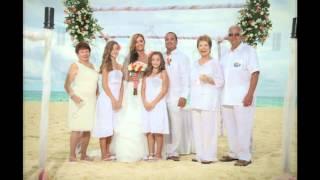 Mr. & Mrs. Barrios Wedding in Playa Del Carmen 2013