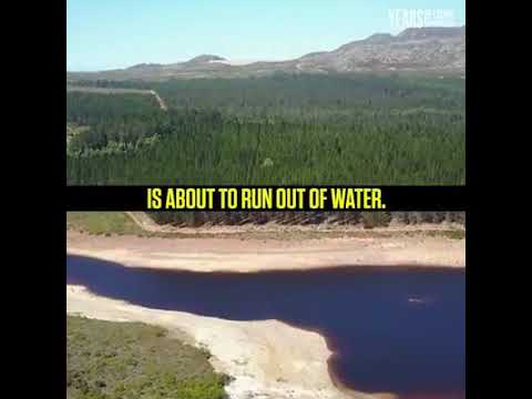 The first major city in the world without water supply.....CAPETOWN