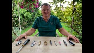 ТОП 10  интересных складных ножей