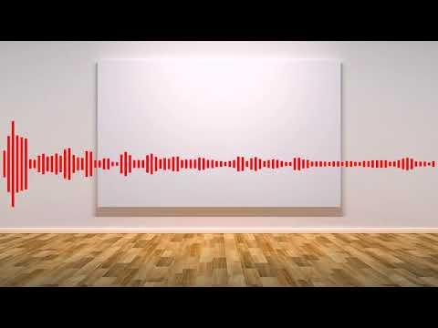 White Noise Canvas [Modern Art as Music]