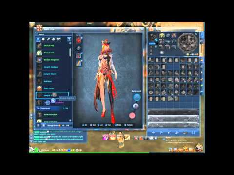 """How to use the """"wardrobe"""" Blade and Soul costume storage"""