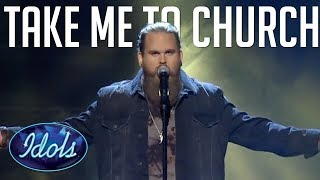 WOW! TAKE ME TO CHURCH! Cover By Christopher Kläfford On Sweden Idol