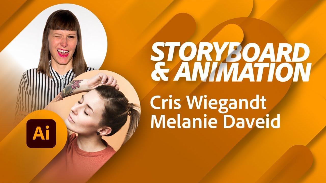 Storyboarding und Animation mit Cris Wiegandt & Melanie Daveid |Adobe Live