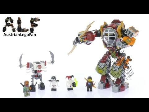 Lego Ninjago 70592 Salvage M.E.C. - Lego Speed Build Review