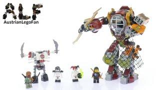 Lego Ninjago 70592 Salvage M.E.C. - Lego Speed Build Review