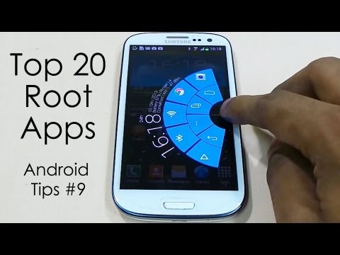 "Top 20 ""Must Have"" Root Apps for Rooted Android Devices - Part 1 - 2013 - Android Tips #9"