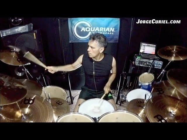 Jorge Curiel - El Cordel (Luzbel) drum playthrough
