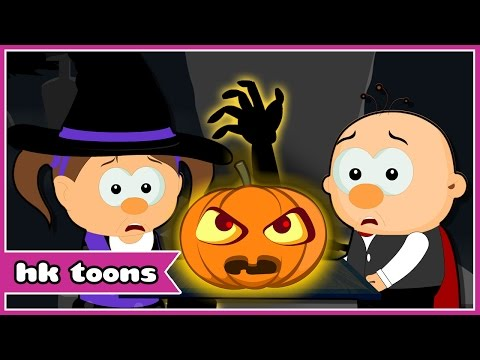 Spooky Night   Scary Songs for Kids   Scary Nursery Rhymes   HooplaKidz Toons