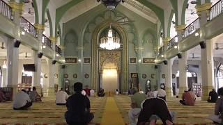 Azan from Masjid Sultan in Singapore (3) [Prayer Hall]