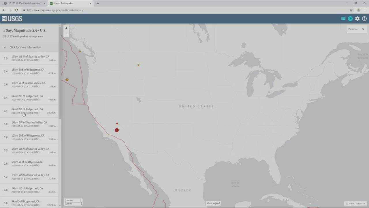 Large California earthquake felt in the Central Valley