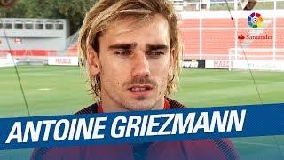 Entrevista a Antoine Griezmann, jugador del Atlético de Madrid