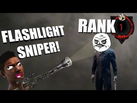 Dead By Daylight Survivor | FLASHLIGHT SNIPER!
