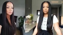 "HJ Weave Beauty Hair | 24"" Brazilian Straight Lace Front Wig"