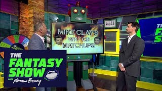 Week 2 WR/CB Match-ups with Mike Clay | The Fantasy Show with Matthew Berry | ESPN