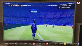 كيف ستكون لعبة فيفا 2017 على جهاز Playstation 4 pro و على شاشة Samsung 4k 3D ؟