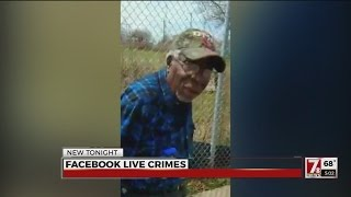 Live streamed crimes, while disturbing, can help investigators