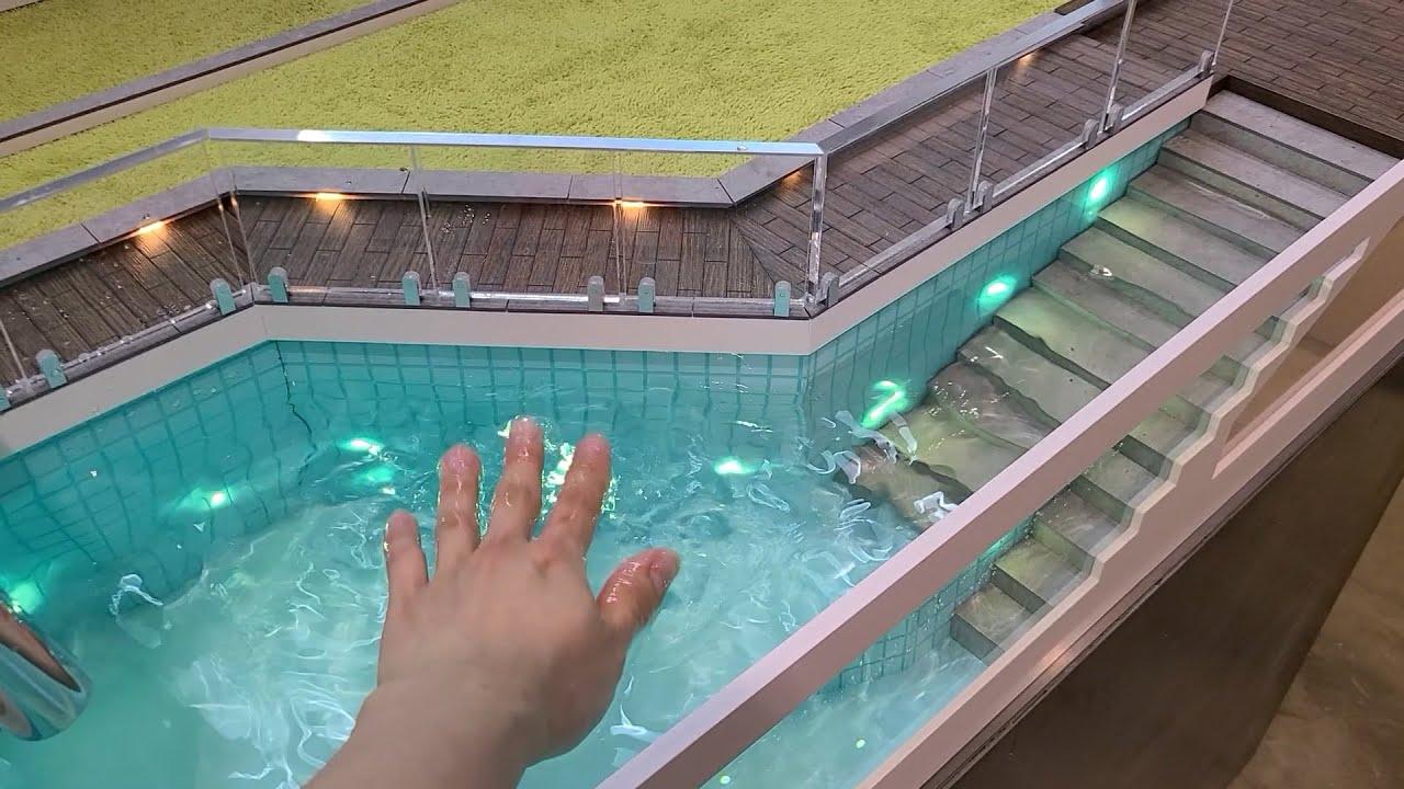 고슴도치를 위한 대저택 만들기 #2.5 수영장 수도공사하기 / How to make Hedgehog mansion swimming pool waterworks