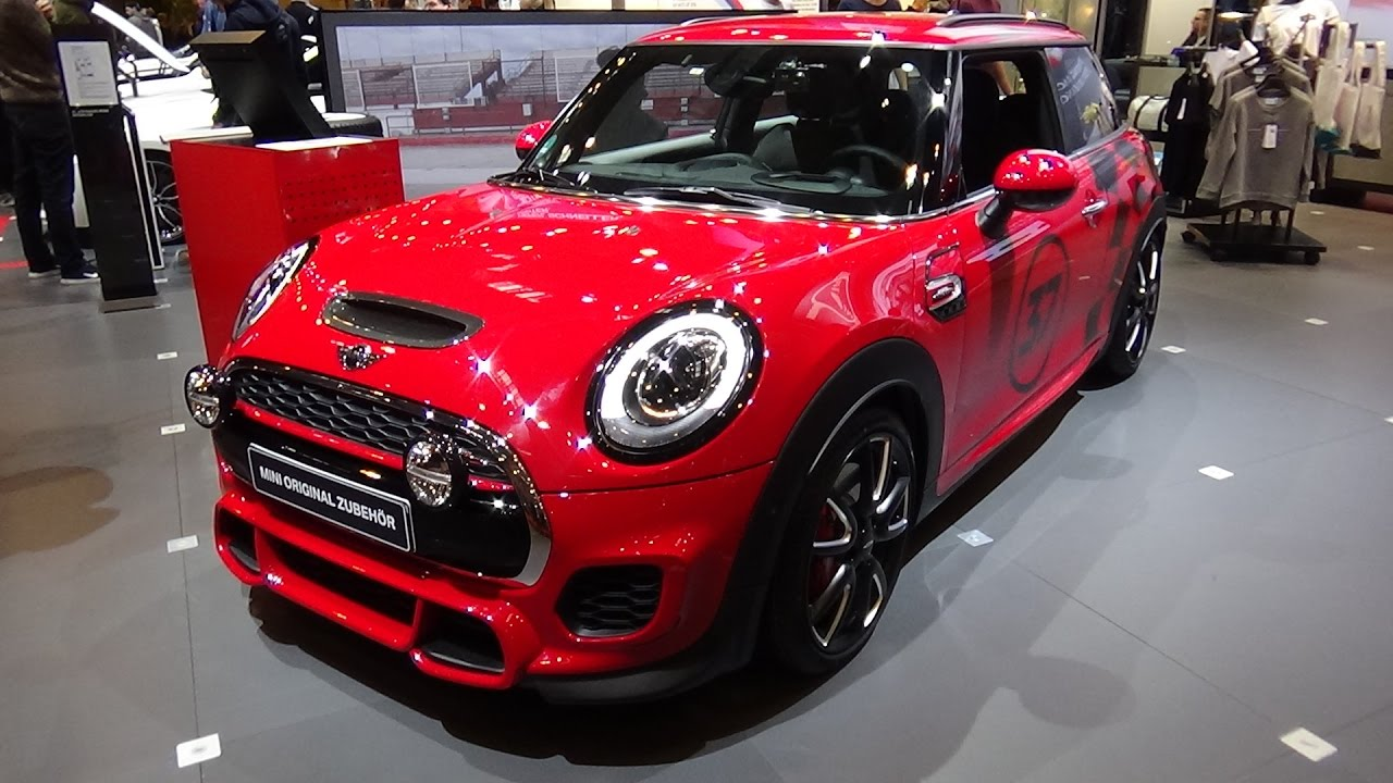 2017 mini john cooper works 3door exterior and interior essen motor show 2016 youtube. Black Bedroom Furniture Sets. Home Design Ideas