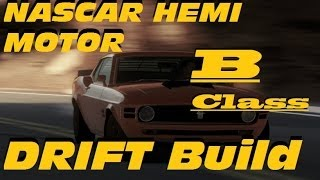 Forza Horizon ; B Class Drift Build Boss 429 NASCAR Hemi Engine