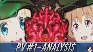 The Rising Of The Shield Hero PV #1 Analysis - Characters, Episode Count, Studio & Streaming!!