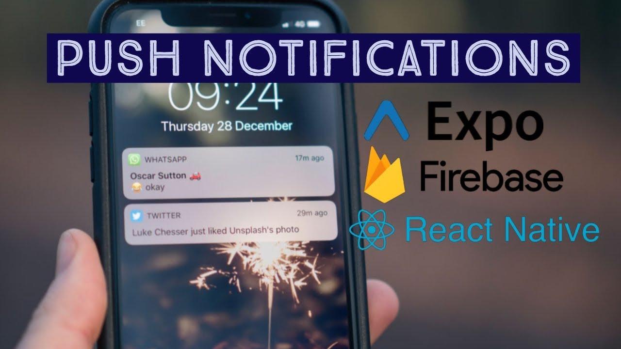 Expo / React Native / Firebase: Send Push Notifications