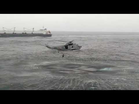 Cyclone Ockhi: Navy rescue fishermen off Thiruvananthapuram coast