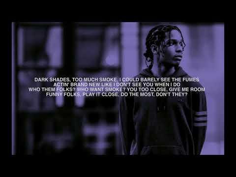 ASAP Rocky - Bad company feat. Blockboy JB (LYRICS)