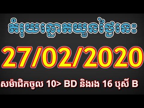 តំរុយឆ្នោតយួន 27-02-2020 / Vina24h Today,Vietnamese Lottery Vietnam Lottery VIP