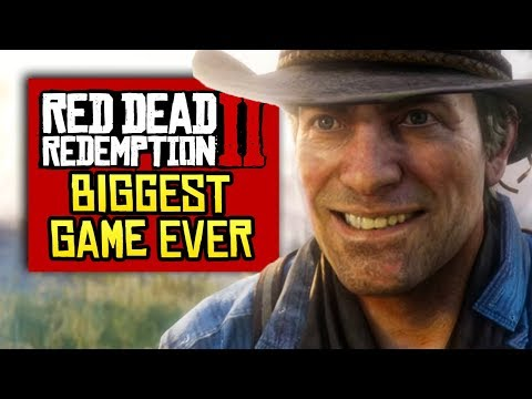 Red Dead Redemption 2 Will Be the BIGGEST Game Ever Made
