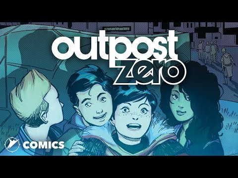 Outpost Zero - Skybound's New Young Adult Comic Book Series!