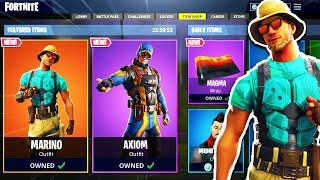 "The New ""MARINO"" SKIN! NEW Fortnite Item Shop Today Live Countdown March 12"
