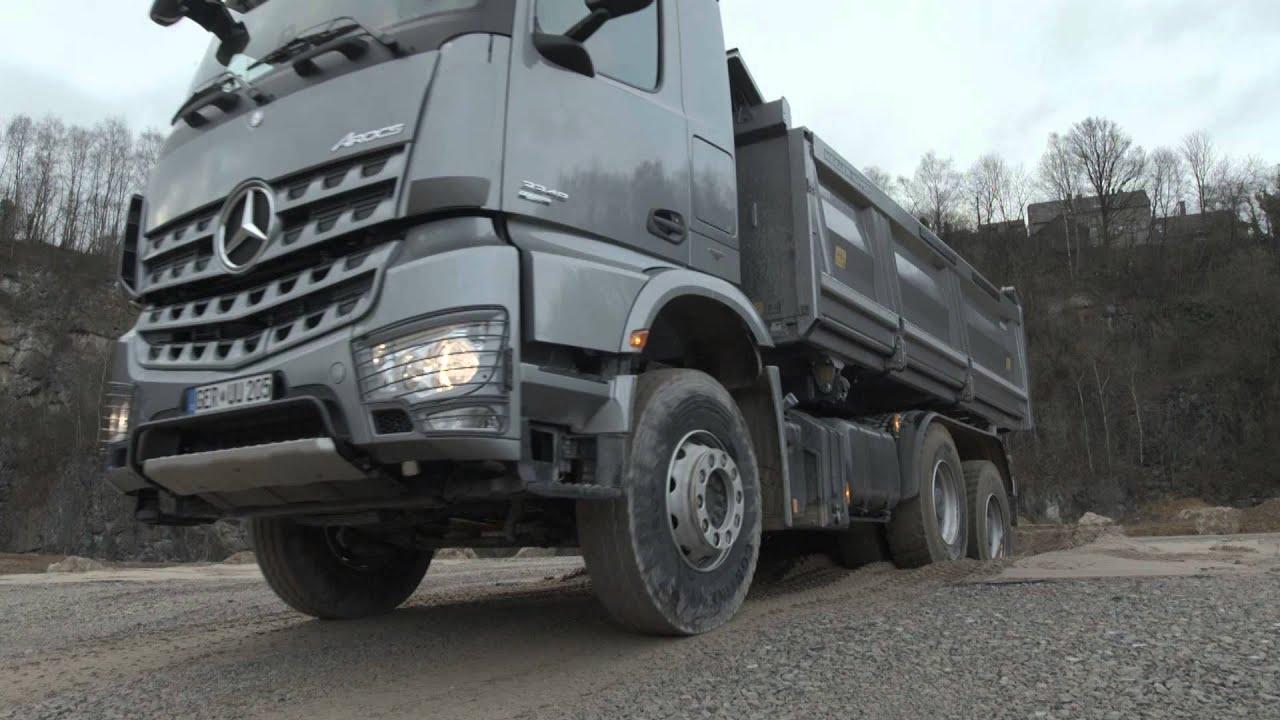 LKW Offroad Training (2013) Mit Dem Neuen Mercedes-Benz