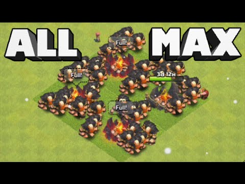 Clash of Clans - EPIC All Level 7 Giant Raid! Over 600K LOOT 3 Star!