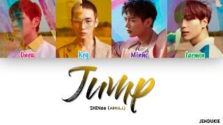 [3.37 MB] SHINee (샤이니) - 'JUMP' Lyrics [Color Coded Han|Rom|Eng]
