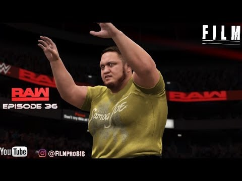 WWE 2K17 Monday Night Raw Story Mode Episode 36