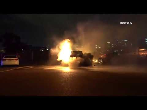 San Diego: Possible Arson 12242015