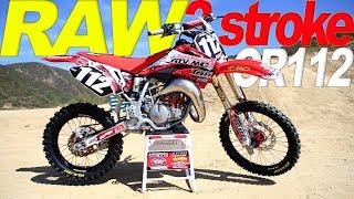 Super Mini Honda CR112 Raw 2 Stroke - Motocross Action Magazine