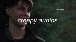 Horror/Halloween audios for edits
