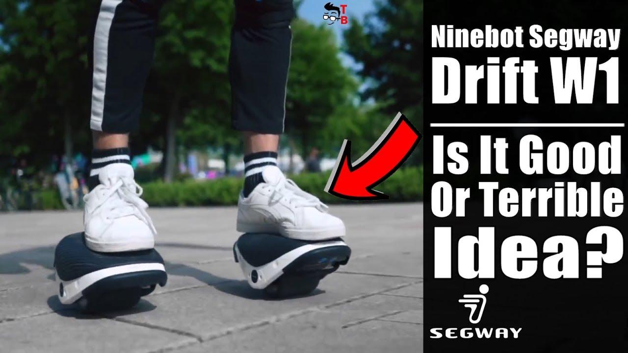f08e2491609 Ninebot Segway Drift W1  Finally Electric Skates! (PREVIEW) - YouTube