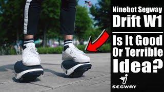 Ninebot Segway Drift W1: Finally Electric Skates! (PREVIEW)