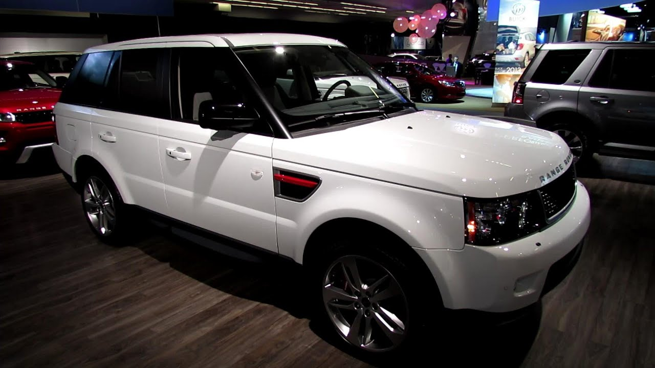 2013 Range Rover Sport Supercharged Exterior and Interior