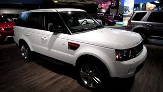 2013 Range Rover Sport Supercharged - Exterior and Interior Walkaround - 2013 Montreal Auto Show