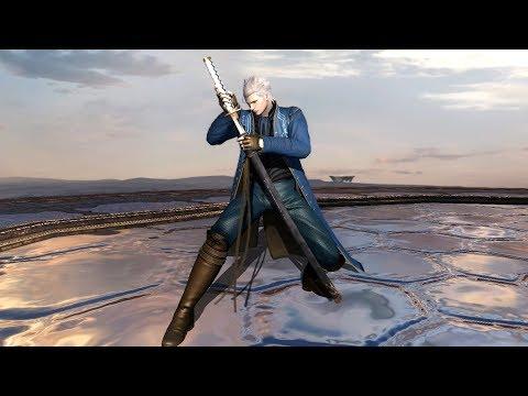 【DevilMayCry4SE】バージル 刀技モーション鑑賞動画【居合】Vergil KATANA Actions