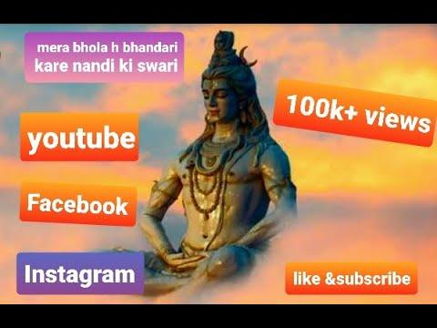 Mera Bhola hai bhandari Kare Nandi ki Sawari New lyrics videomp3