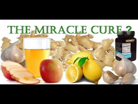 apple-cider-vinegar,-garlic,-honey-syrup-health-benefits-&-side-effects---miracle-cure