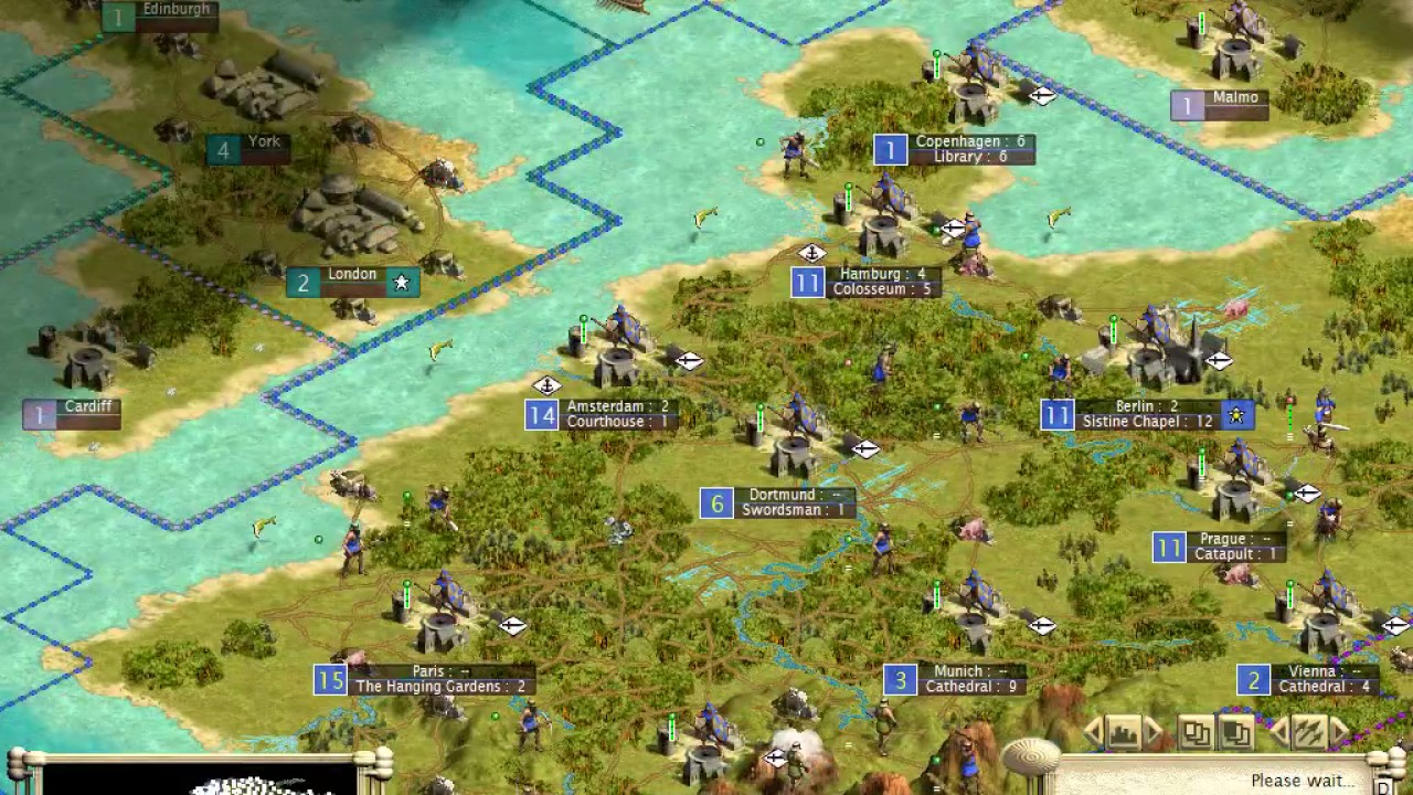Civilization 3 World Map Mod Germany Youtube
