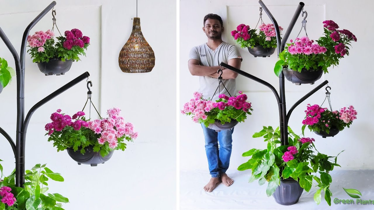 Most Attractive Hanging Garden Idea To Beautify Your Home | How to Make Hanging Garden//GREEN PLANTS