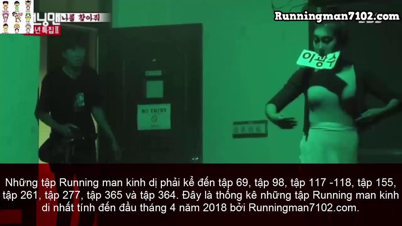 Những tập Running man nhà ma & kinh dị hay nhất