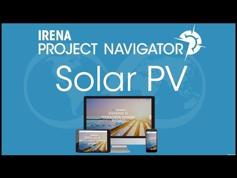 IRENA Project Navigator Webinar: Utility-scale solar PV